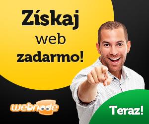 Webnode - Získaj web zadarmo!